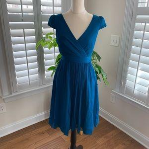 JCREW Mirabelle dress size 4  silk